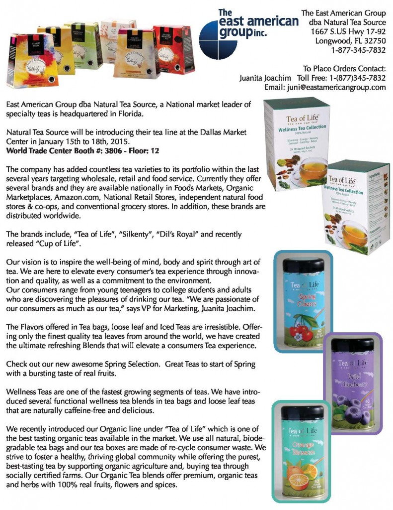 Press Release for Natural Tea Source - DBL Sided 8halfx11sm_Page_1
